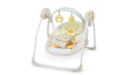 columpio bebe exterior