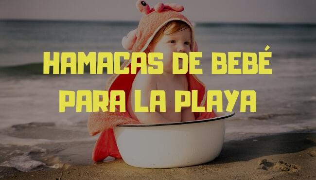 hamaca bebe playa