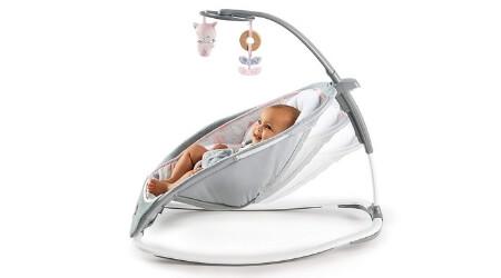 hamaca bebe vibracion musica